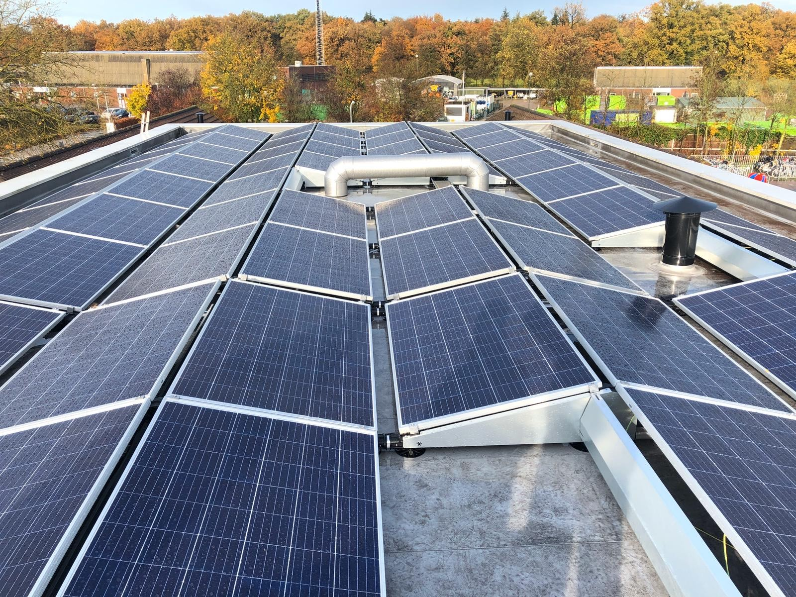 School Zonnepanelen SolarCell