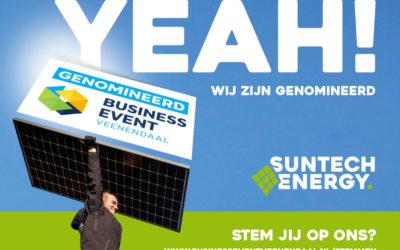 Suntech Energy genomineerd voor award